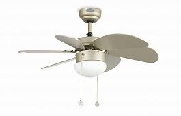 Люстра вентилятор Palao Gris (Палао серый) (33186FAR)